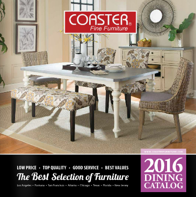 2016 Dining Room Catalog